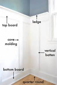 Baseboards with a fancy top just a plain ol board will do top