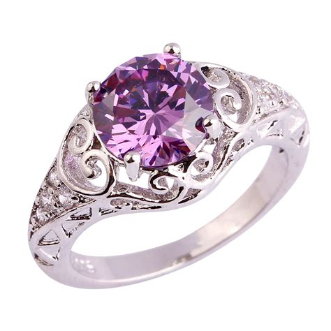 Wholesale Rings by Aliexpress Buy New Wholesale Ring Amethyst