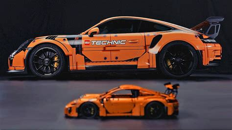 lego porsche 911 gt3 rs porsche 911 gt3 rs lego edition karage tv