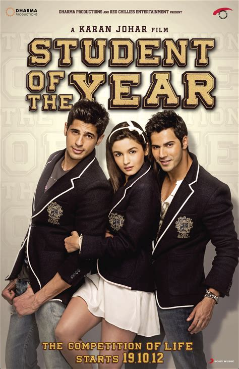 film comedy of the year student of the year bromance brawn and not too much brain