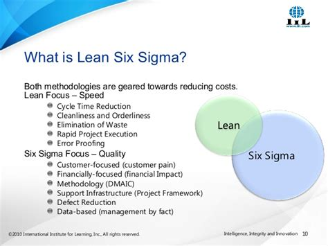 Pmp Vs Mba Vs Six Sigma by Improving Project Management Skills With Lean Six Sigma