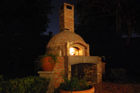How To Build A Brick Wood Fired Pizza Oven Smoker Combo