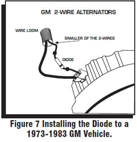 diode installation direction how to install an msd 6a digital ignition module on your 1979 1995 mustang americanmuscle