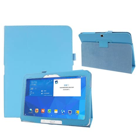 Casing Samsung Tab 4 selling folio leather cover for samsung galaxy tab 4 10 1 quot sm t530 tablet bee clean
