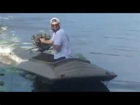 layout boat youtube mud skipper 6 5hp longtail mud motor on a beavertail final