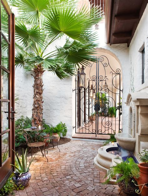 Awesome Palm Tree Mirror Sale Decorating Ideas Gallery In Mediterranean Patio Design