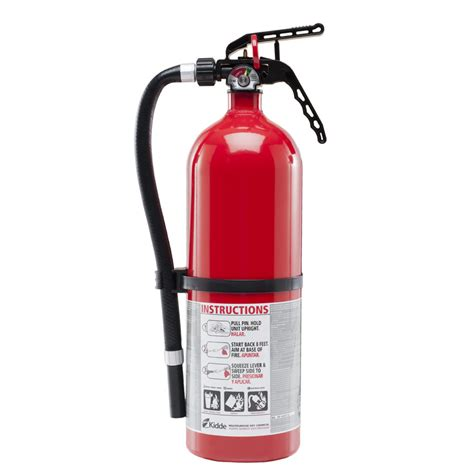 shop kidde living area 2a10bc extinguisher at lowes