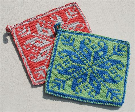 how to knit a potholder knitting boutique knitter me