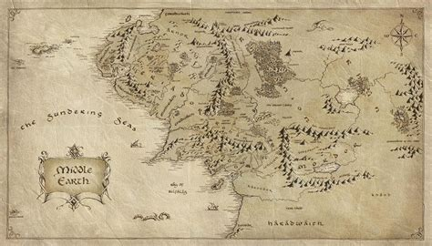 map middle earth relevant now the hobbit by j r r tolkien book review