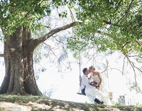 swing while you re winning jodie byrne and sam alford get fairytale wedding in