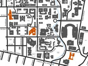 Ut Building Map Locations Hours Ut Copy Services The Of