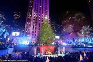 Switch Is Flipped For 81st Rockefeller Center Christmas Tree Lighting Rockefeller Center 2013