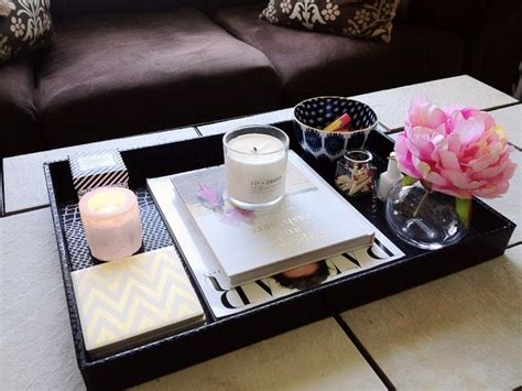 how to style a coffee table how to style coffee table trays ideas inspiration