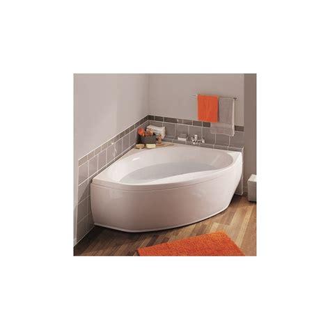 baignoire en toplax baignoire d angle mod 232 le nalia 135x135x53 53 3 cm en