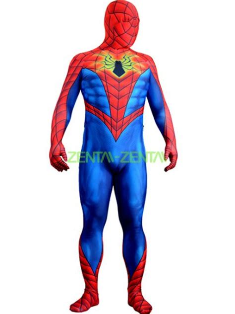 different reds all new all different spider man red and blue printed 3d