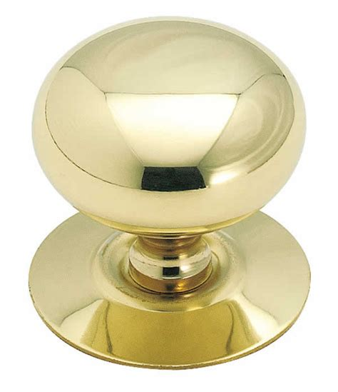 Cabinet Knob With Backplate by Allison Al544 1 1 2 Inch Solid Brass Cabinet Knob With