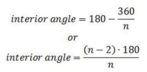 Interior Angle Formula by What Is A Polygon Definition Shapes Angles