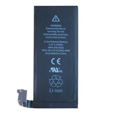 Baterai Iphone 4 baterai iphone 4 hq li ion replacement battery 1420mah