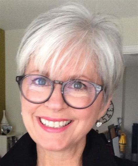 gray hairstyles with glasses pinterest the world s catalog of ideas