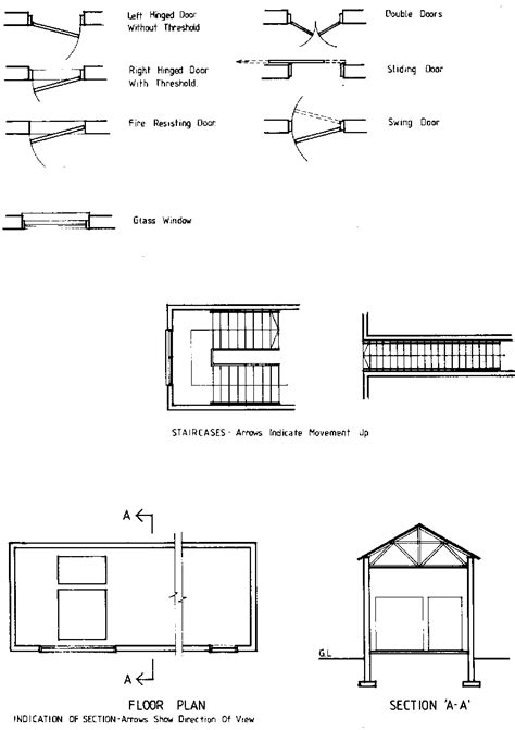 architectural drawing symbols floor plan architectural symbols chart houses plans designs