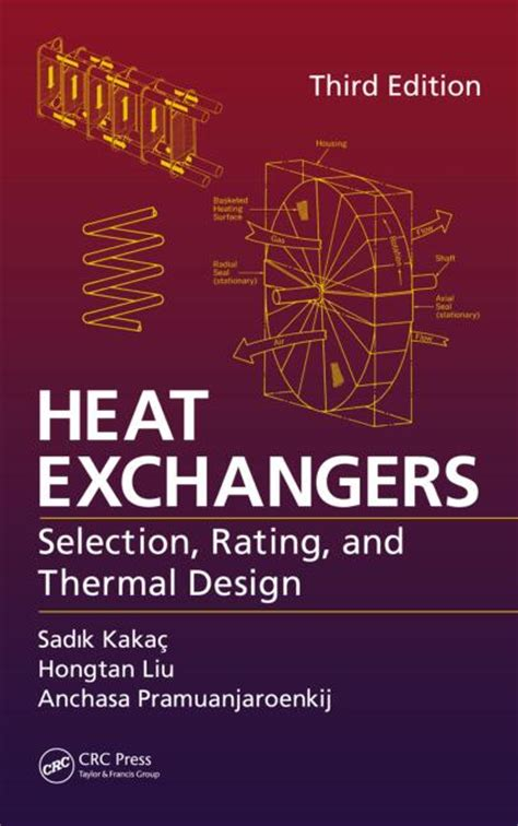 heat a books heat exchangers selection rating and thermal design