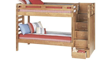 creekside bunk bed creekside taffy step bunk bed