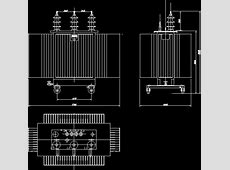 Transformer DWG Block for AutoCAD – Designs CAD Electrical Transformer Calculations