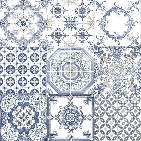 pattern feature tiles muriva patterned wallpaper railings moroccan tiles feature