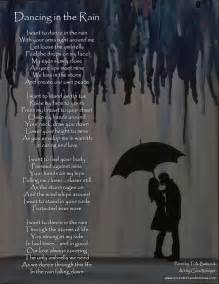 Window Covering by Dancing In The Rain Poem With Painting Eccentric