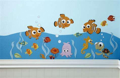 Finding Nemo Nursery Decor Finding Nemo Premier Wall Decals Disney Baby Finding Nemo Nursery Decor Suppl Your Schools