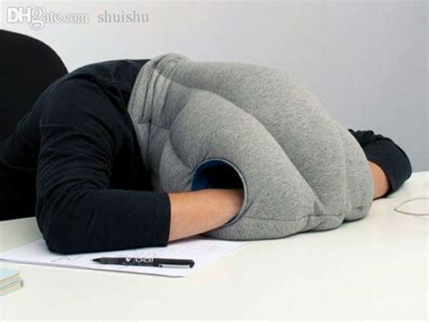 Power Nap Office Pillow by Wholesale Ostrich Pillow For Travel Sleeping Nap Pillow