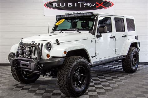 sahara jeep white pre owned 2012 jeep wrangler sahara unlimited white