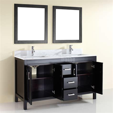 Bathroom Vanities 60 Inches by Studio Bathe Corniche 60 Inch Bathroom Vanity