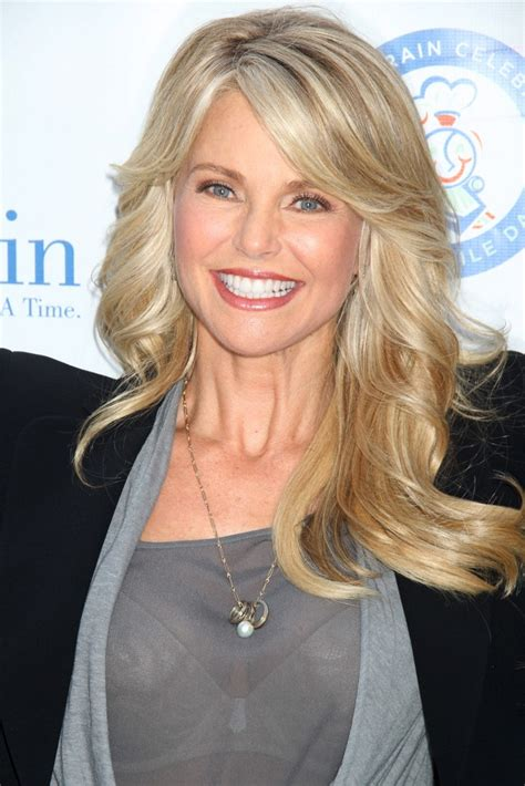 58 yr old blonde hair styles christie brinkley picture 18 smile train along with