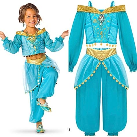 Dress Disney Murmer Dress Princess disney store princess costume dress arabian dress up sizes new ebay