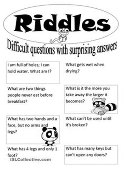 riddles  codes  learning pinterest worksheets brain teasers  brain