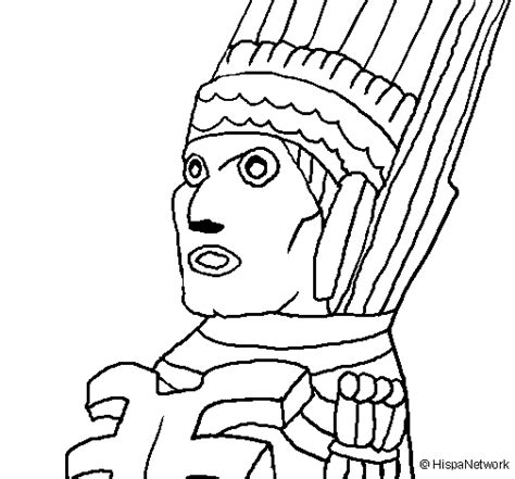 Free Coloring Pages Of Maya Gods Mayan Coloring Pages