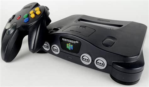 nintendo 64 console nintendo 64 console n64 retro console retromagia
