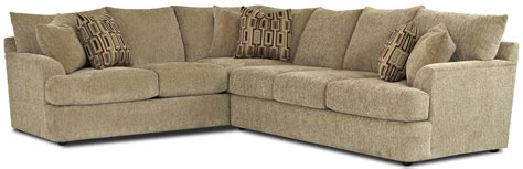 klaussner findley sectional klaussner findley contemporary l shaped sectional sofa h