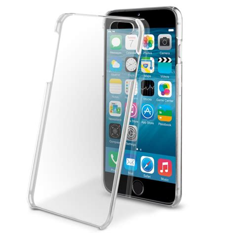coque iphone 6 plus 6s plus transparente rigide muvit