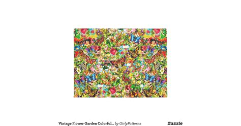 Floral Doormat Vintage Flower Garden Colorful Butterfly Floral Doormat