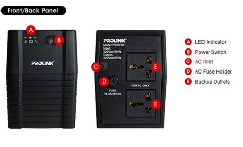 Baterai Ups Prolink 1200va jual harga ups prolink pro700 650va