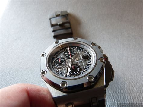 Ap Schumacher Blue Rubber Swiss Eta 1 1 insider audemars piguet royal oak offshore michael schumacher limited edition as amazing as