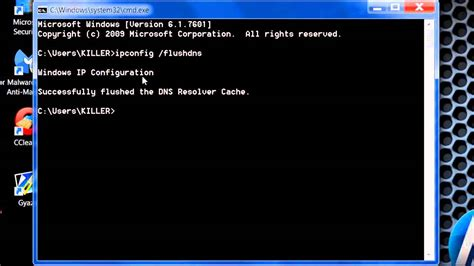 Ip Lookup Command Flush Dns Using Command Prompt On Windows