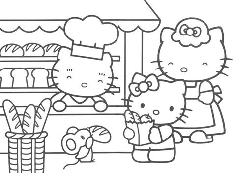 hello kitty tea party coloring pages 130 best images about hello kitty party on pinterest