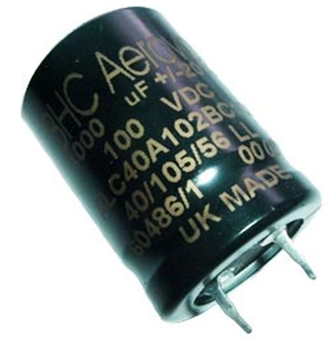 1000uf 100v axial capacitor 1000uf 100v radial snap in electrolytic capacitor bhc aerovox alc40a102bc100 west florida