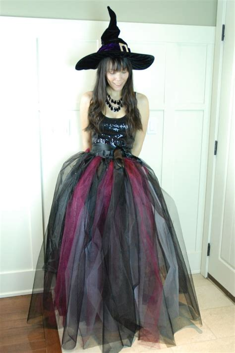 Handmade Witch Costume - witch costume ideas