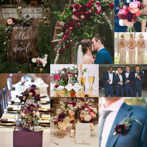 Blue And Maroon Wedding Decoration   Division of Global