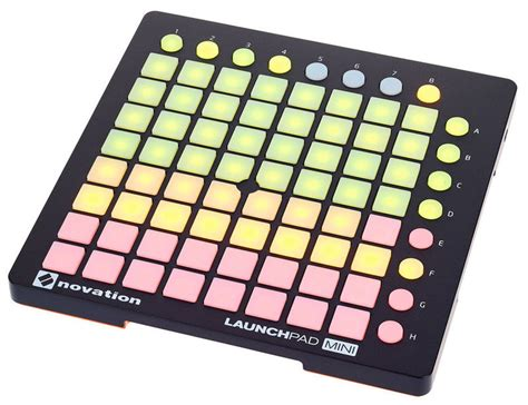 Novation Launchpad Mk2 2 novation launchpad mini mk2 thomann danmark