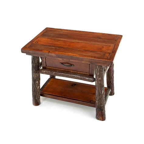 pictures of end tables yellowstone original end table with drawer and